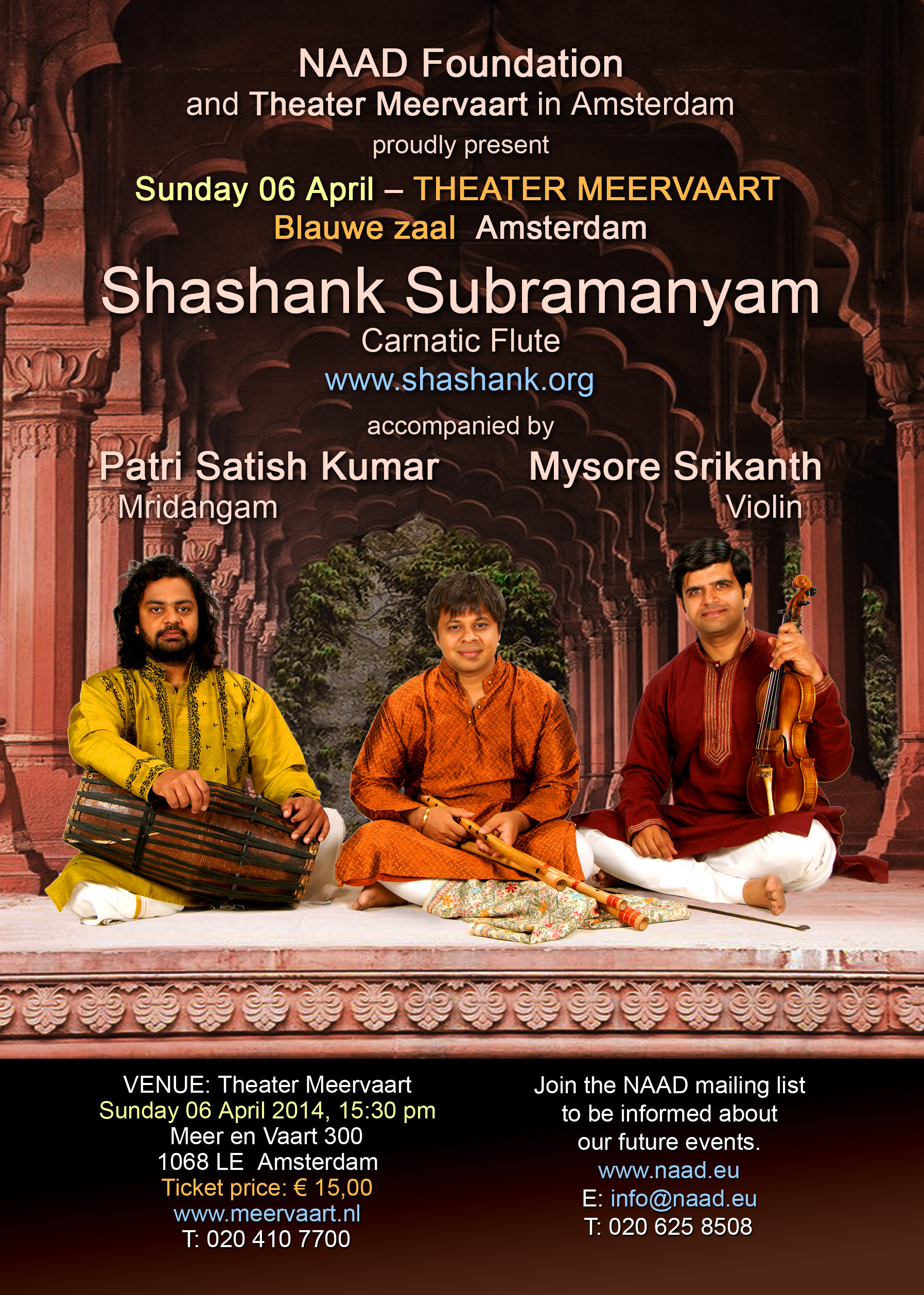 NAAD concert April 2014 - Shashank Subramanyam