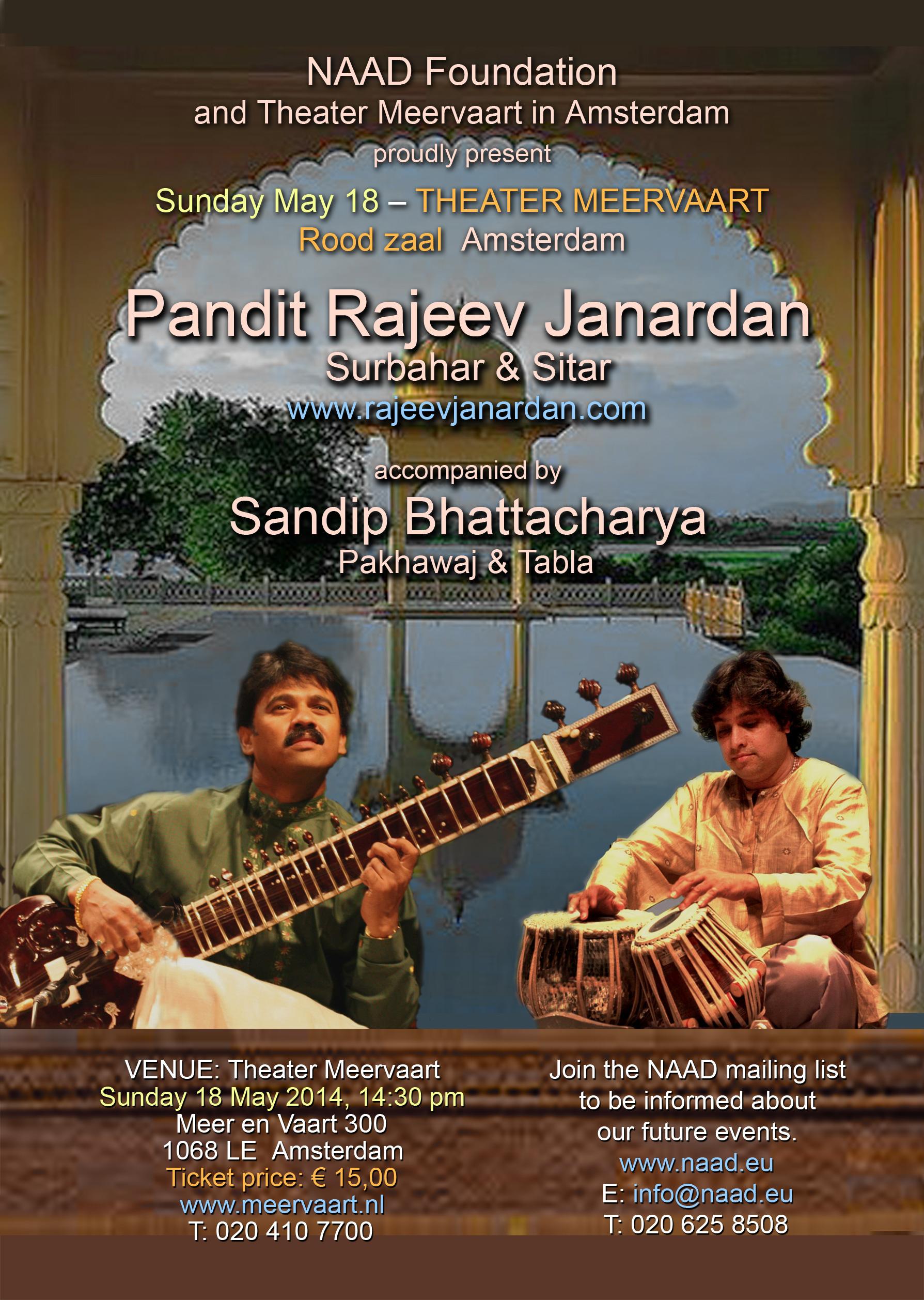 NAAD concert May 2014 - Rajeev Janardan
